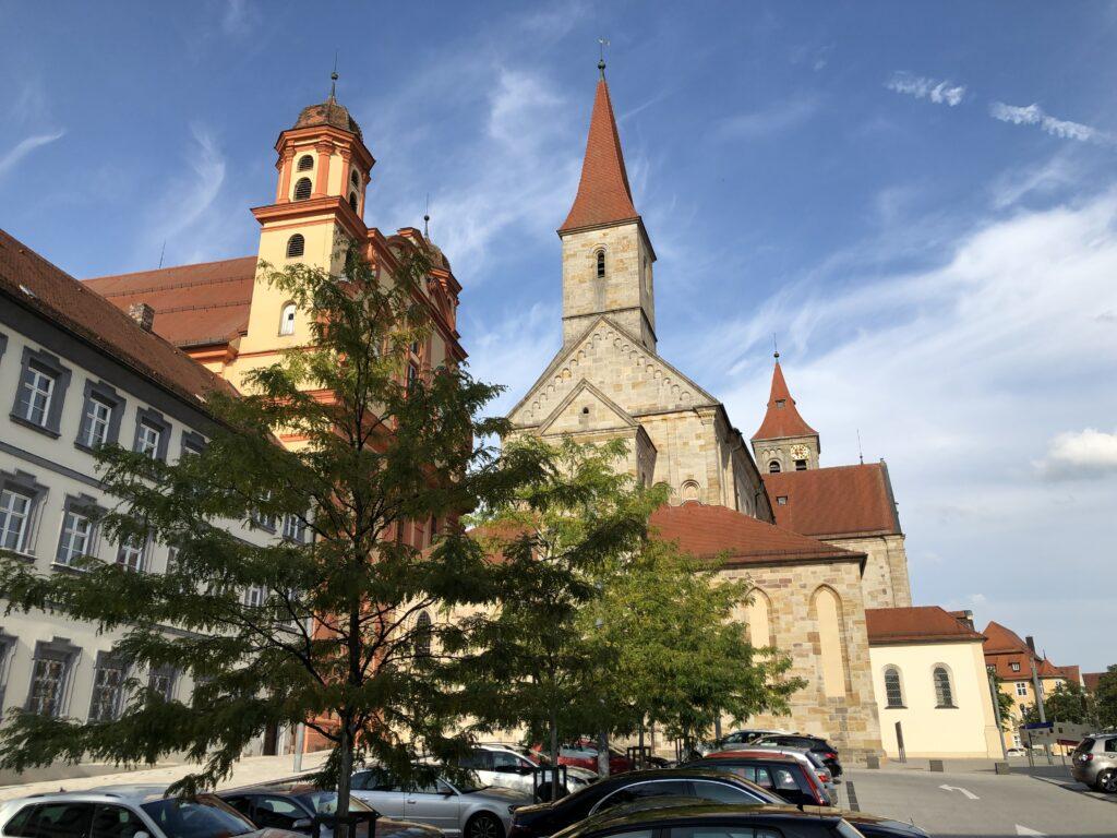 Basilika St. Vitus in Ellwangen (Bild: Klaus Dapp)