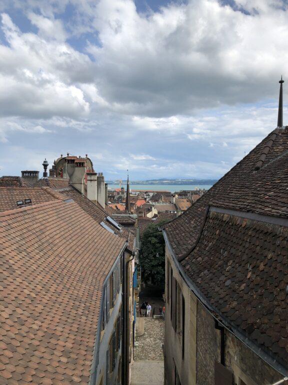 Blick über Neuchâtel (Bild: Klaus Dapp)