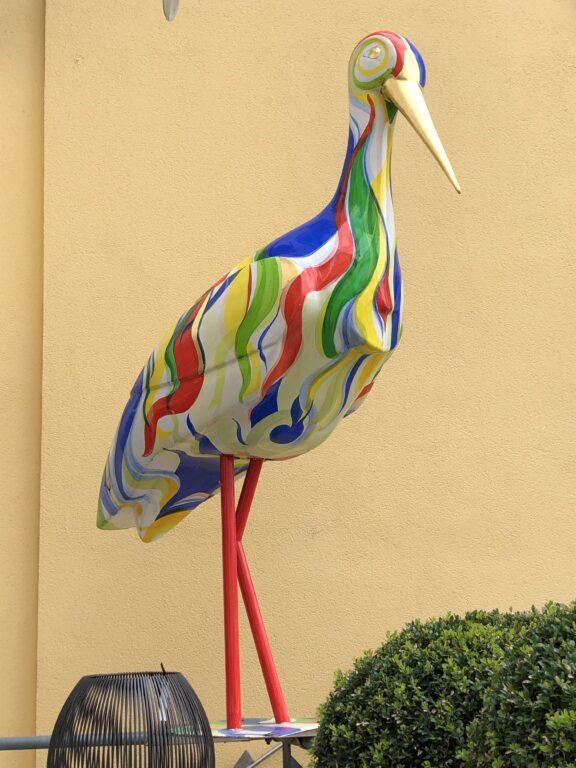 Storch in Riedlingen (Bild: Klaus Dapp)