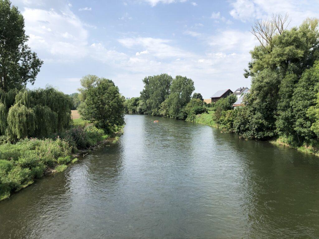 Donau bei Dettingen (Bild: Klaus Dapp)
