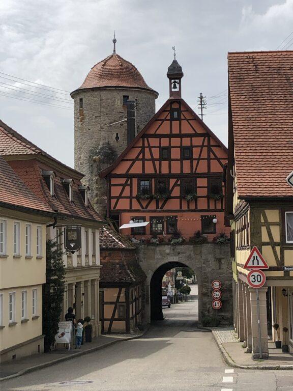 Eingangstor nach Langenburg (Bild: Klaus Dapp)