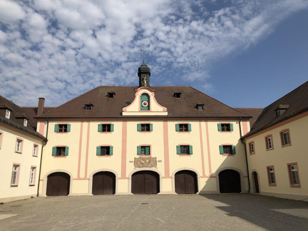 Schloss in Oberdischingen (Bild: Klaus Dapp)
