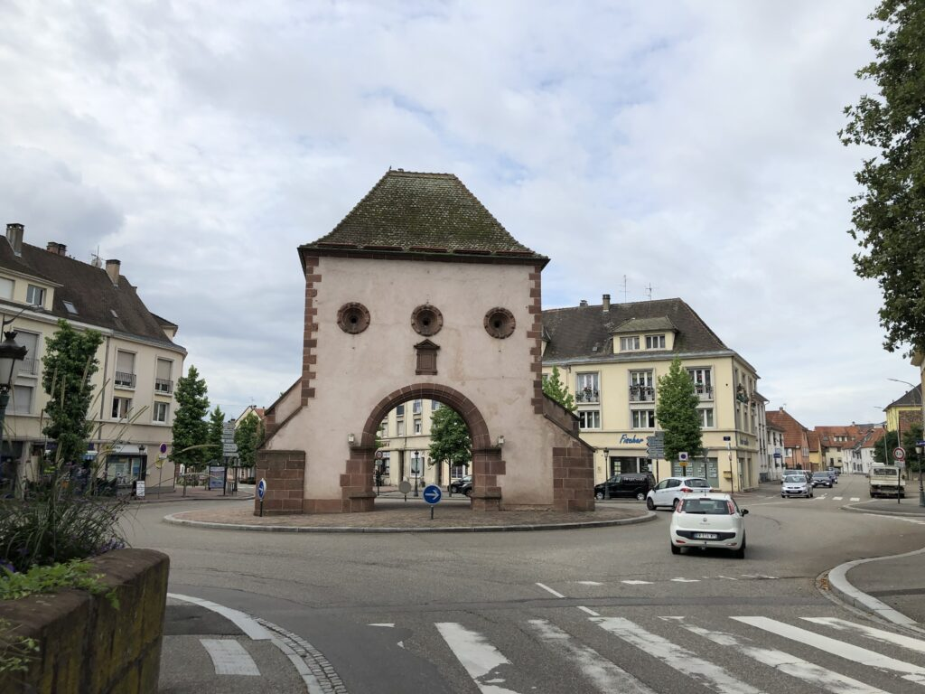 Wissembourger Tor in Haguenau (Bild: Klaus Dapp)