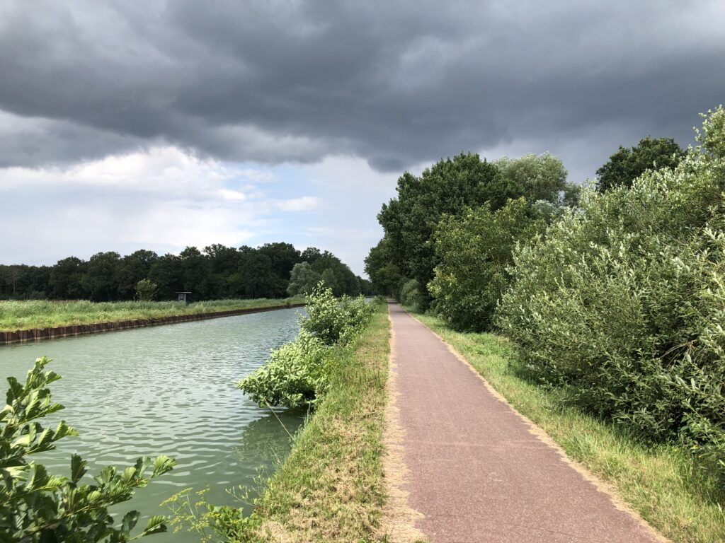 Kanal nach Saverne (Bild: Klaus Dapp)