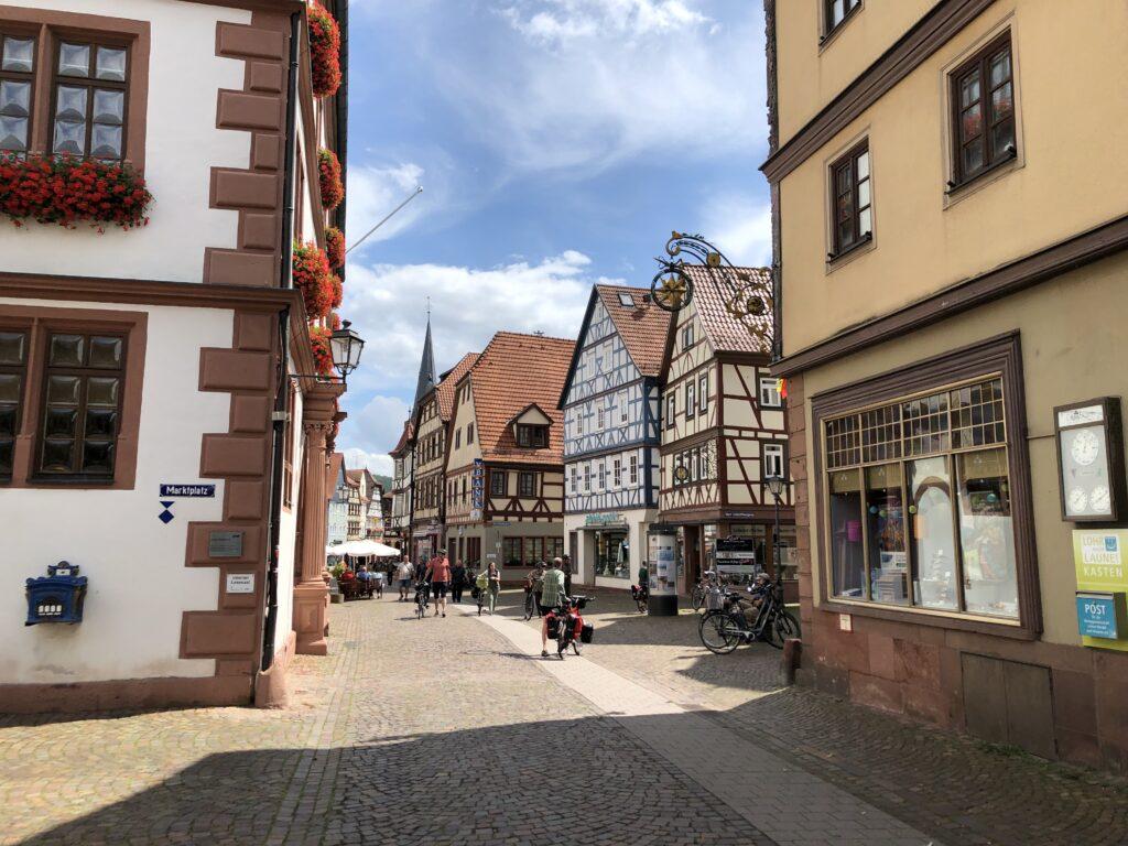 Altstadt von Lohr (Bild: Klaus Dapp)