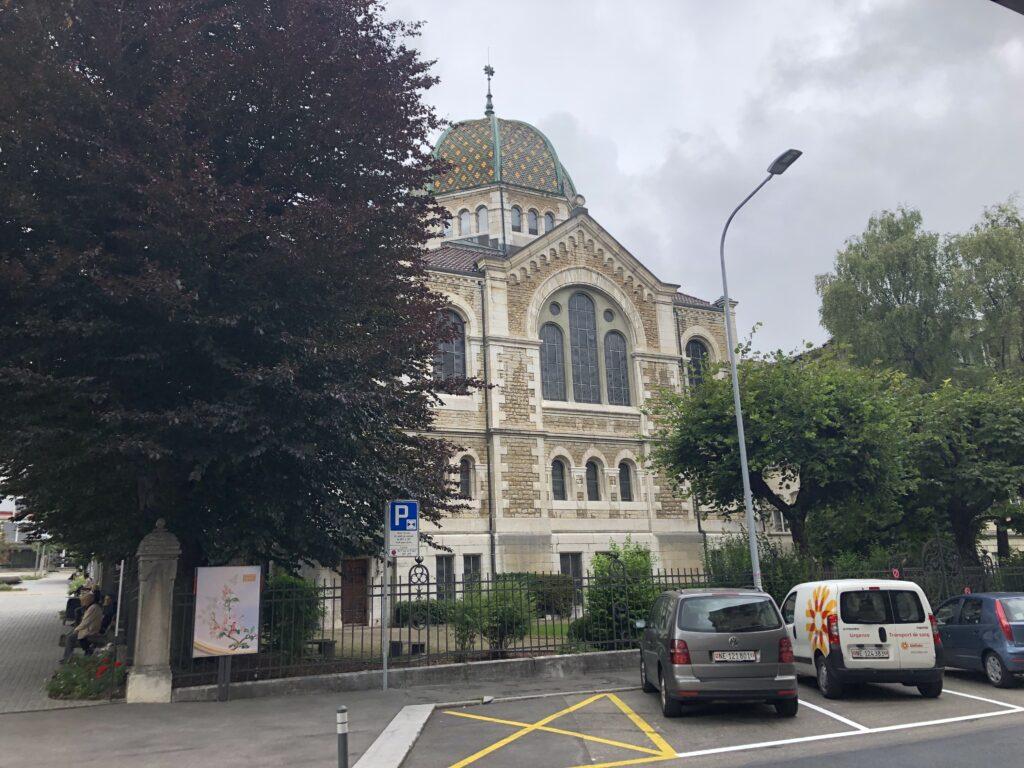 Synagoge in La Chaux de Fonds (Bild: Klaus Dapp)